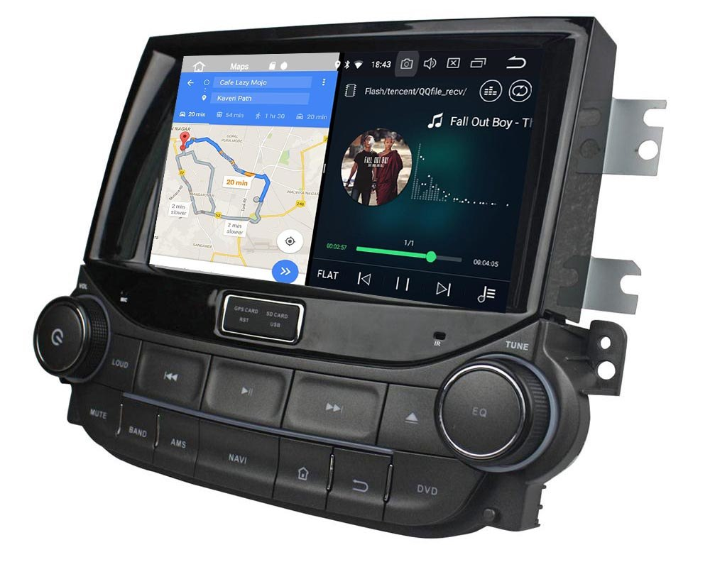 Autoradio AGW92 GPS WIFI DVD CD Bluetooth USB SD pour CHEVROLET Malibu (Android 8.1 processeur 2GHZ)