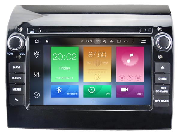 Autoradio AGW92 GPS WIFI DVD CD Bluetooth USB SD pour FIAT Ducato (Android 8.1 processeur 2GHZ)