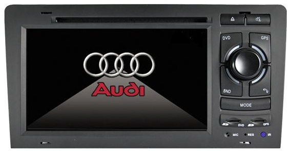 Autoradio AGW92 GPS DVD CD Bluetooth USB SD pour AUDI A8 & S8 (processeur 1GHZ)