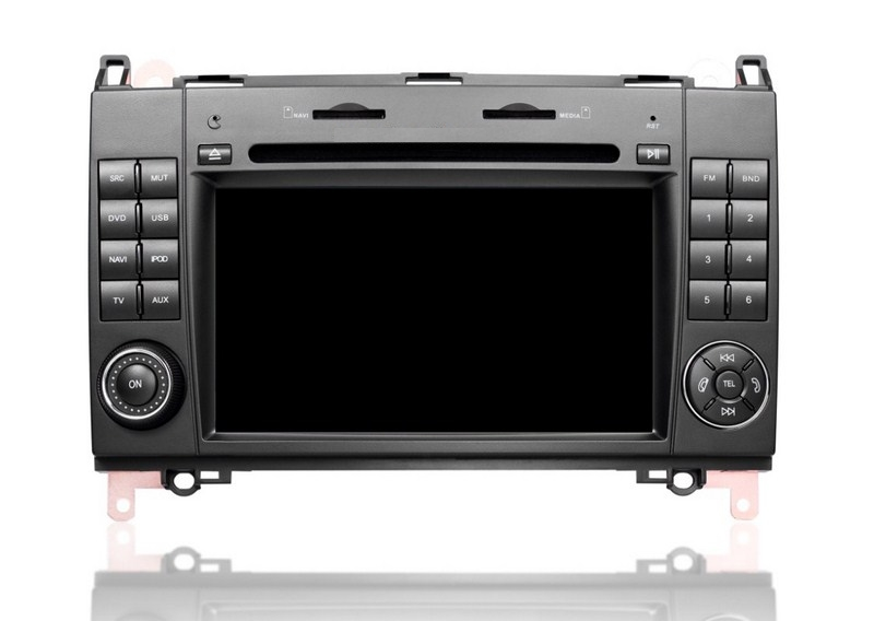 Autoradio AGW92 GPS WIFI DVD CD Bluetooth USB SD pour VOLKSWAGEN Crafter et LT3 (Windows processeur 1GHZ)