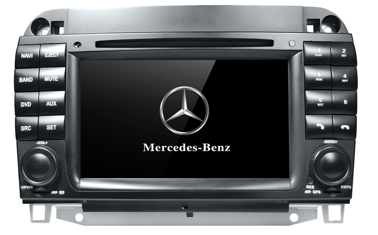 Autoradio AGW92 GPS WIFI DVD CD Bluetooth USB SD pour MERCEDES classe S et CL (Windows processeur 1GHZ)