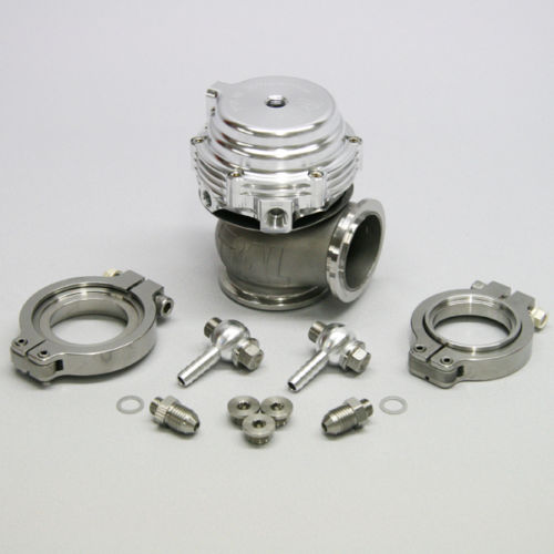Kit complet Tial WasteGate 38mm MVS gris 0.6bar performance