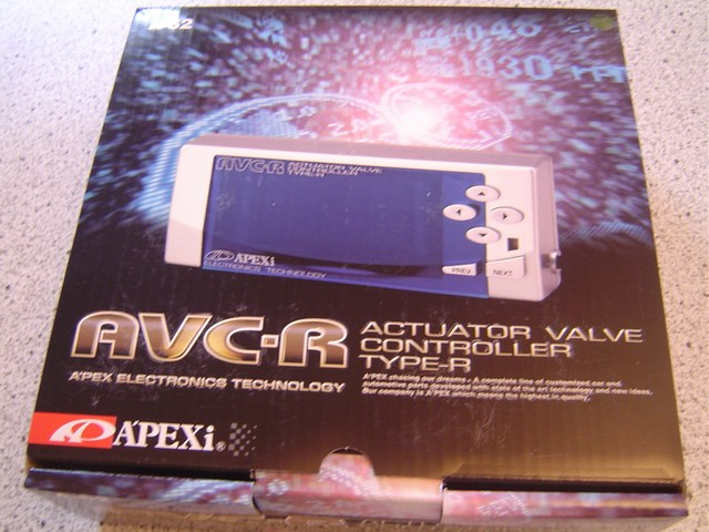 APEXi AVC-R Turbo Boost Controller (gris)