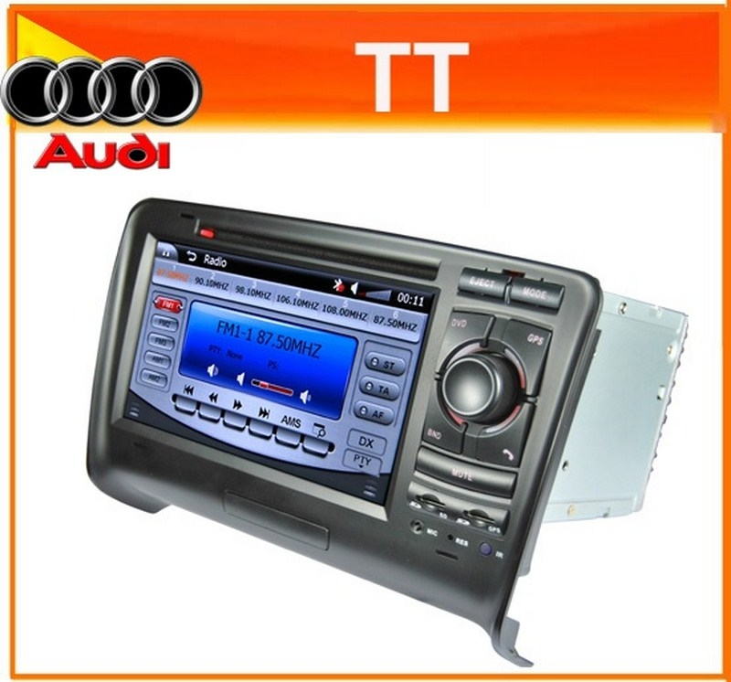 Autoradio AGW92 GPS WIFI DVD CD Bluetooth USB SD pour AUDI TT (Windows processeur 1GHZ)