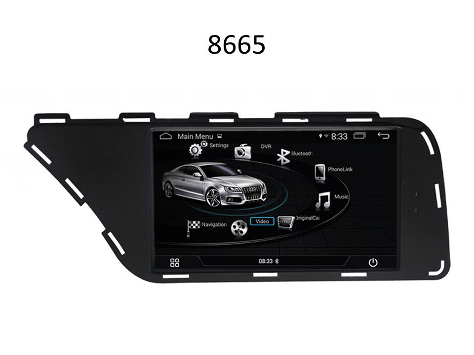 Autoradio AGW92 GPS WIFI DVD CD Bluetooth USB SD pour AUDI Q5 (processeur 2GHZ)