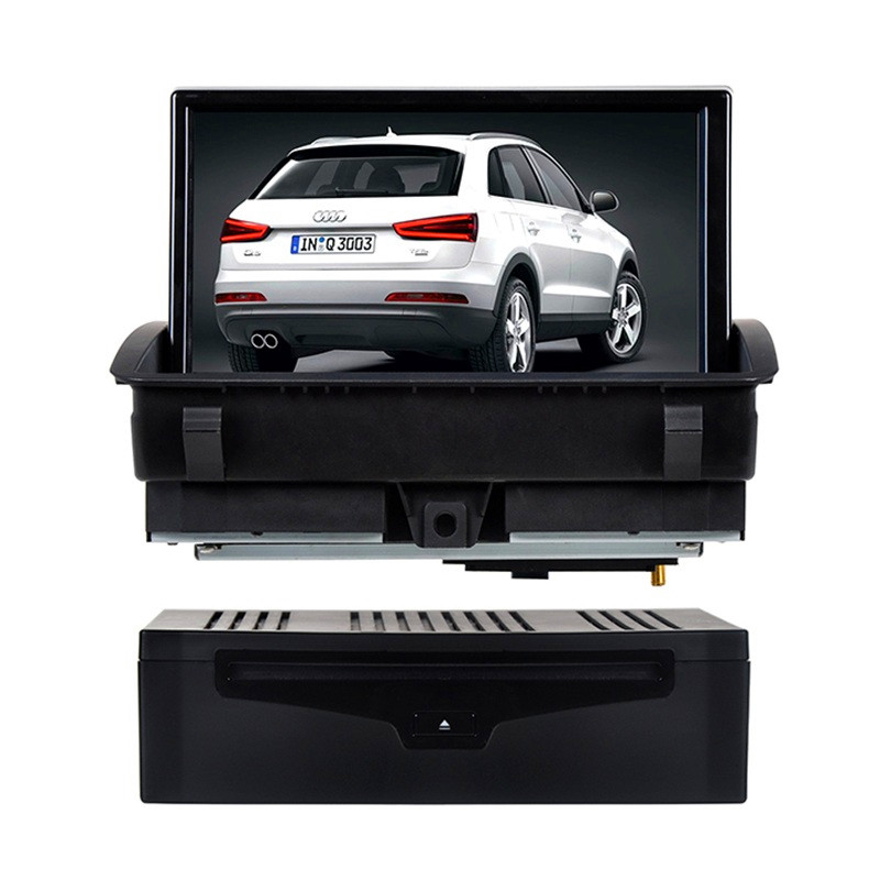 Autoradio AGW92 GPS DVD CD Bluetooth USB SD pour AUDI A1 & Q3 (processeur 1GHZ)