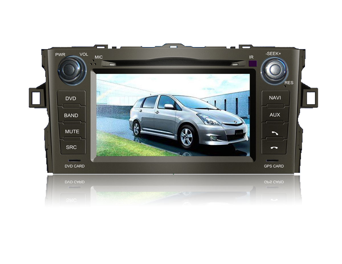 Autoradio AGW92 GPS WIFI DVD CD Bluetooth USB SD pour TOYOTA Auris (processeur 2GHZ)