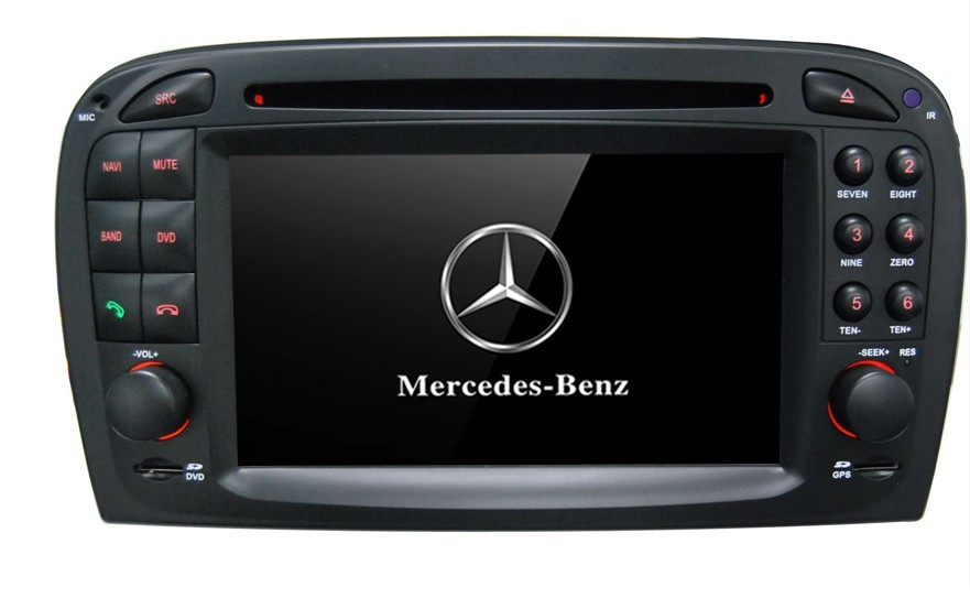 Autoradio AGW92 GPS WIFI DVD CD Bluetooth USB SD pour MERCEDES SL (processeur 2GHZ)