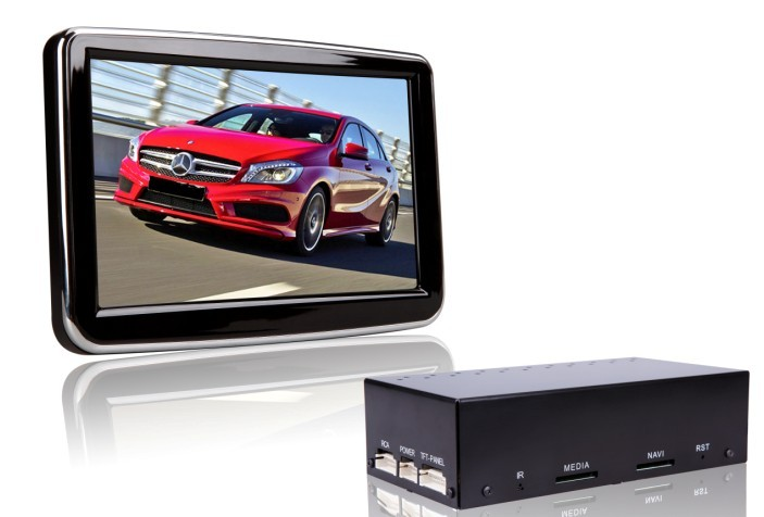 Autoradio GPS WIFI DVD CD Bluetooth USB SD pour MERCEDES Classe A et Classe B (Windows processeur 1GHZ)