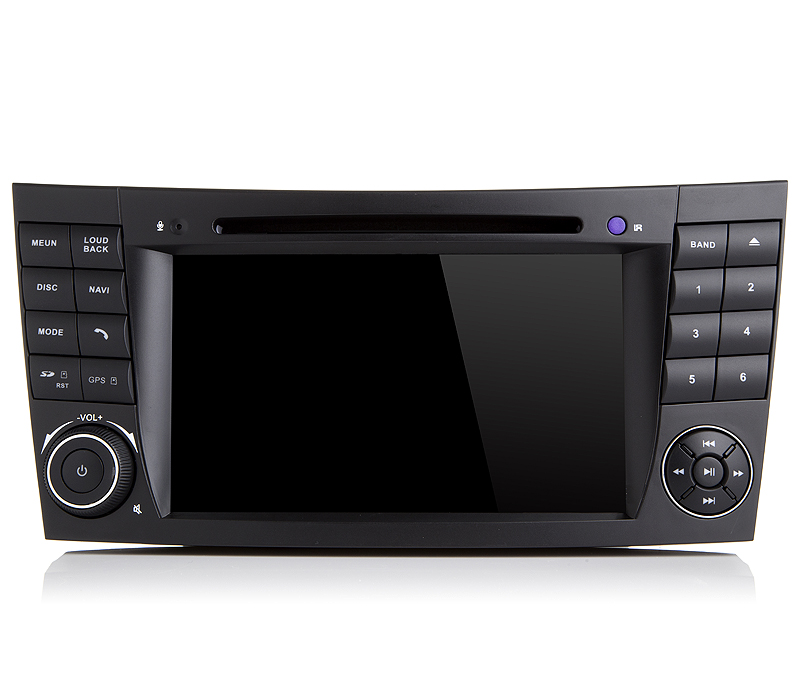 Autoradio AGW92 GPS WIFI DVD CD Bluetooth USB SD pour MERCEDES Classe E G et CLS (Windows processeur 1GHZ)