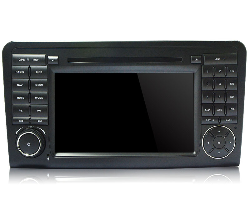 Autoradio AGW92 GPS WIFI DVD CD Bluetooth USB SD pour MERCEDES ML et GL (Windows processeur 1GHZ)