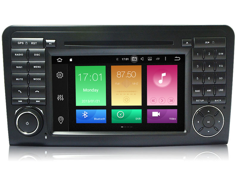 Autoradio AGW92 GPS WIFI DVD CD Bluetooth USB SD pour MERCEDES ML et GL (processeur 2GHZ)