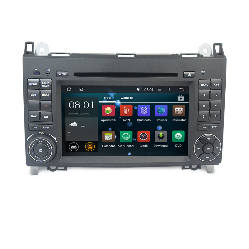Autoradio AGW92 GPS WIFI DVD CD Bluetooth USB SD pour VOLKSWAGEN Crafter et LT3 (Android 8.1 processeur 2GHZ)