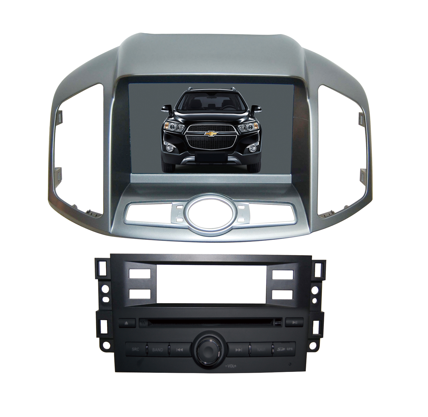 Autoradio AGW92 GPS WIFI DVD CD Bluetooth USB SD pour CHEVROLET Captiva (Android 8.1 processeur 2GHZ)