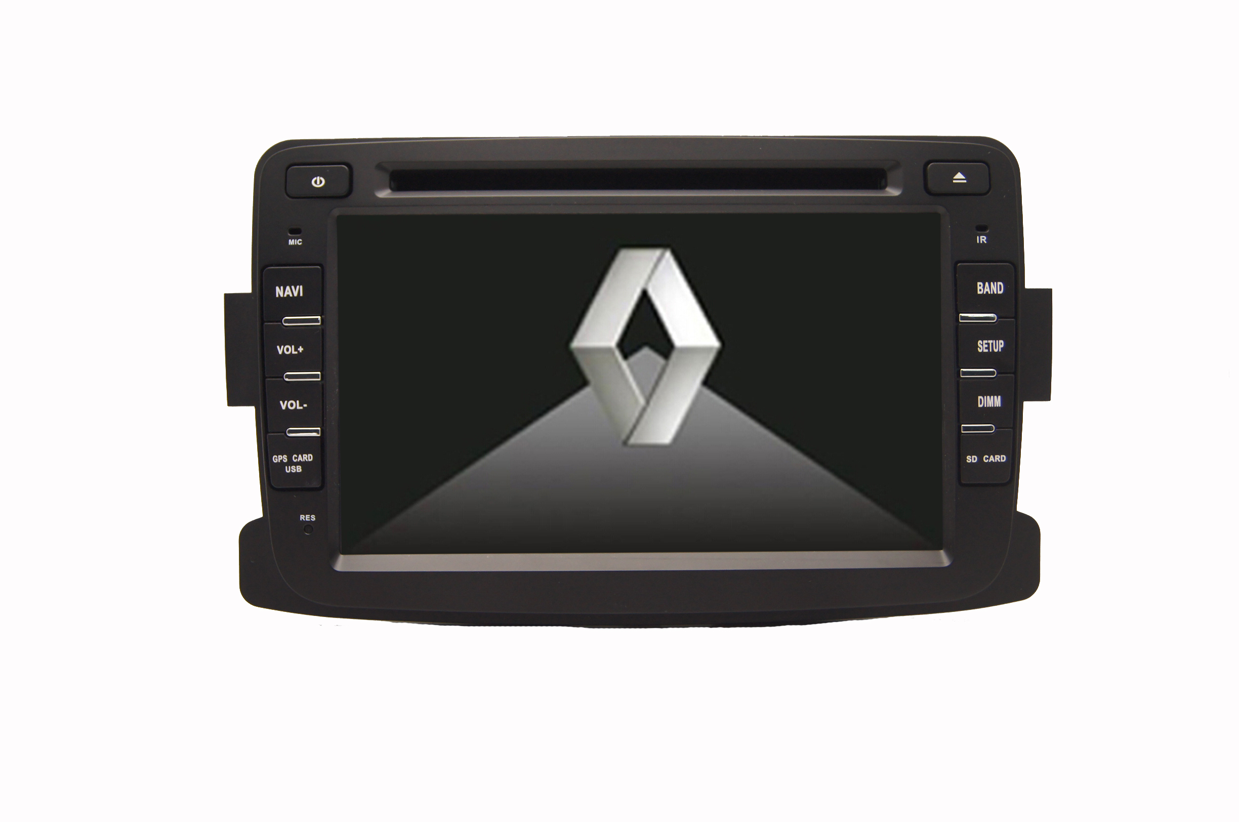 Autoradio AGW92 GPS DVD CD Bluetooth USB SD pour DACIA Duster Sandero Lodgy Logan & Dokker (processeur 1GHZ)