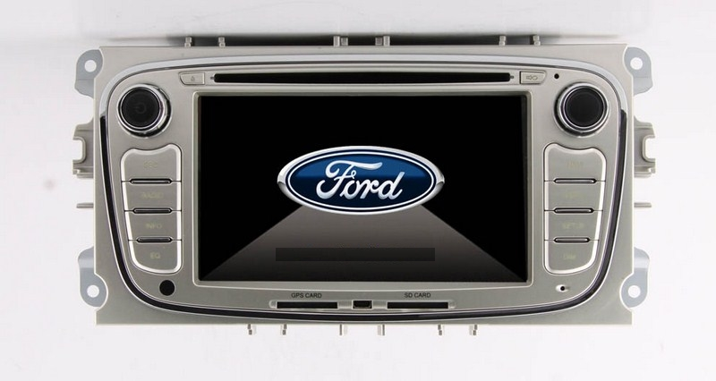 Autoradio AGW92 GPS WIFI DVD CD Bluetooth USB SD pour FORD Mondeo S-Max Focus C-Max Galaxy (Windows processeur 1GHZ)