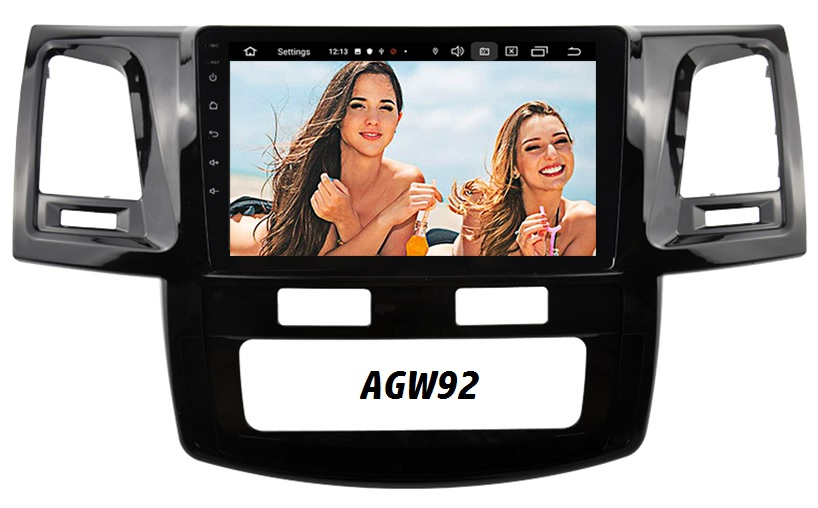 Autoradio AGW92 GPS WIFI DVD CD Bluetooth USB SD pour TOYOTA Hilux (processeur 2GHZ)
