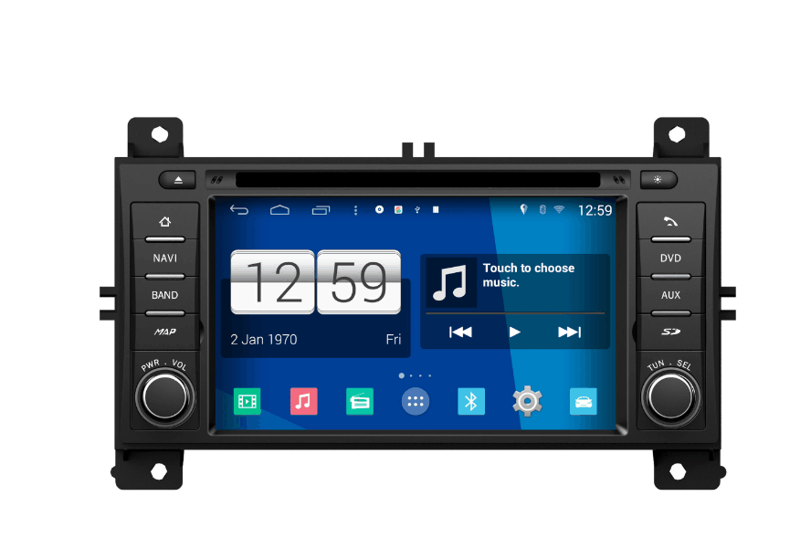 Autoradio AGW92 GPS WIFI DVD CD Bluetooth USB SD pour JEEP Grand Cherokee (processeur 2GHZ)