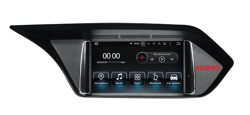 Autoradio AGW92 GPS WIFI DVD CD Bluetooth USB SD pour MERCEDES Classe E (Android 8.1 processeur 2GHZ)