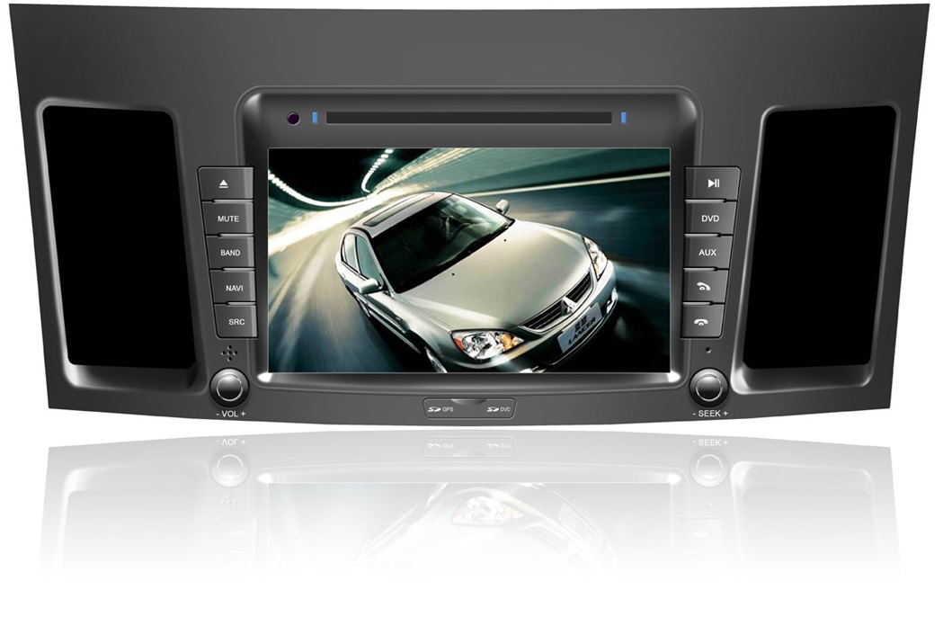 Autoradio GPS WIFI DVD CD Bluetooth USB SD pour MITSUBISHI Lancer (Android processeur 2GHZ)