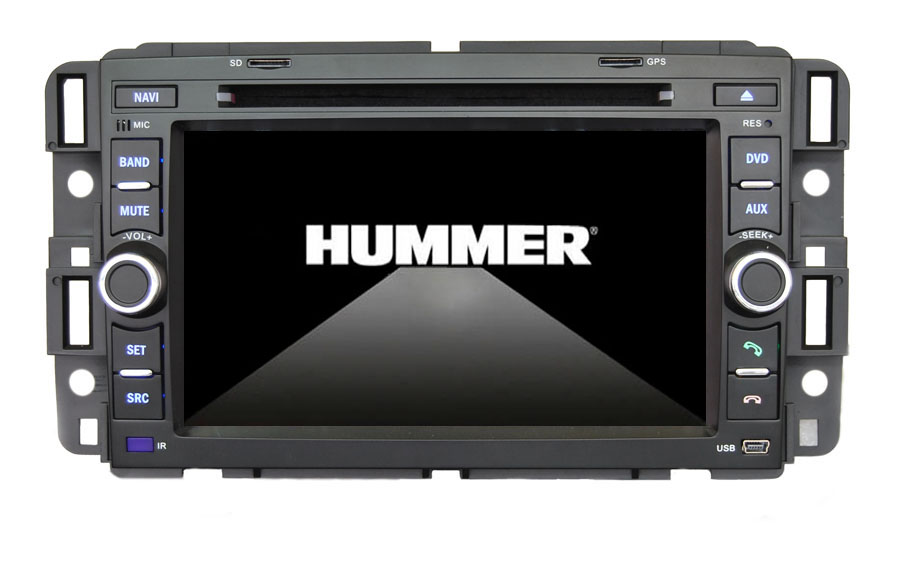 Autoradio AGW92 GPS DVD CD Bluetooth USB SD pour HUMMER H2 (processeur 1GHZ)