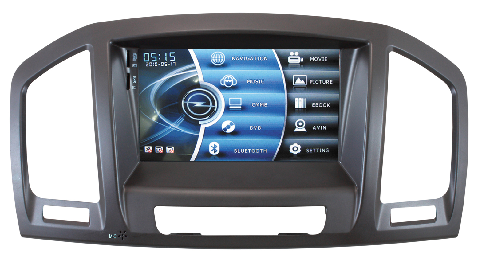 Autoradio AGW92 GPS WIFI DVD CD Bluetooth USB SD pour OPEL Insignia (Android 9.0 processeur 2GHZ)