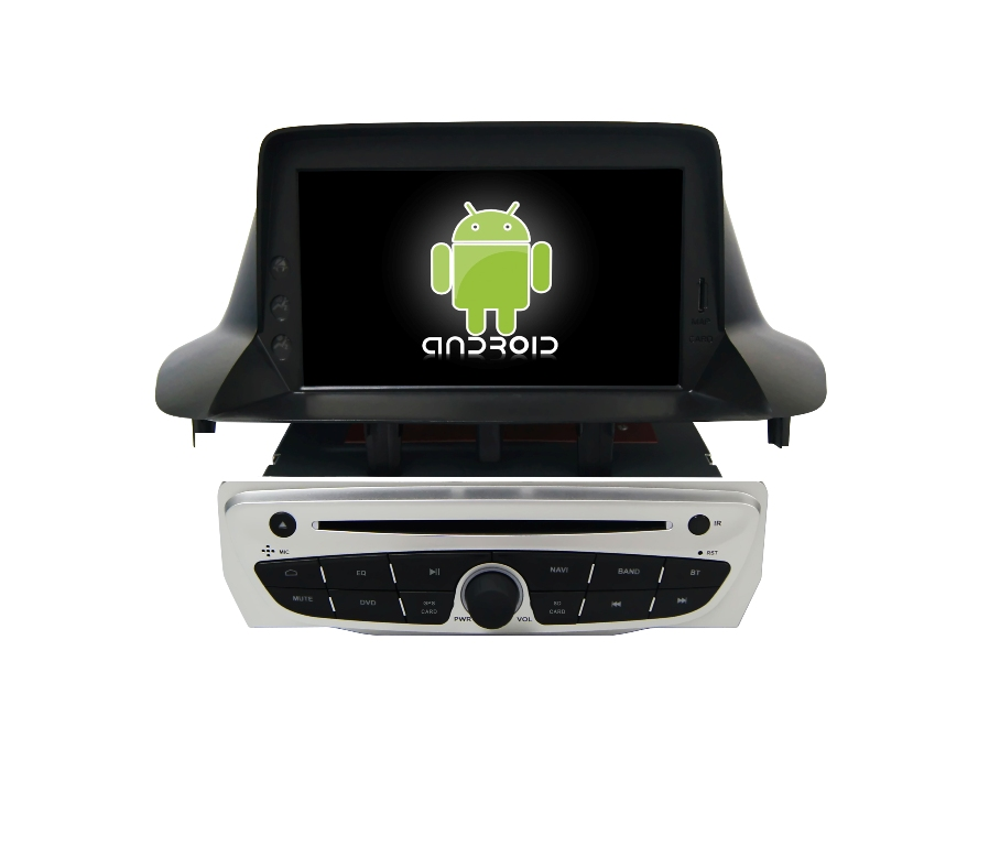 Autoradio AGW92 GPS WIFI DVD CD Bluetooth USB SD pour RENAULT Megane 3 et Fluence (Android processeur 2GHZ)