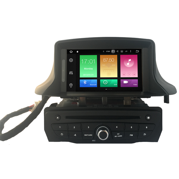 Autoradio AGW92 GPS WIFI DVD CD Bluetooth USB SD pour RENAULT Megane 3 et Fluence (processeur 2GHZ)