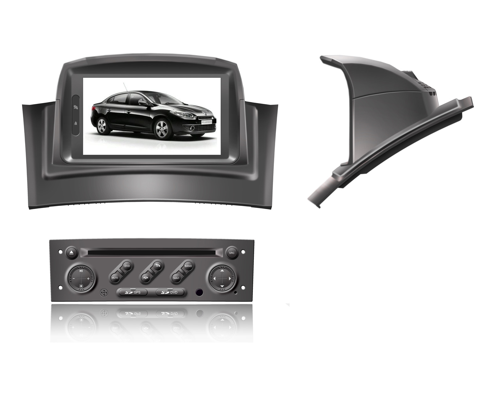 autoradio agw92 gps wifi dvd cd bluetooth usb sd pour. Black Bedroom Furniture Sets. Home Design Ideas