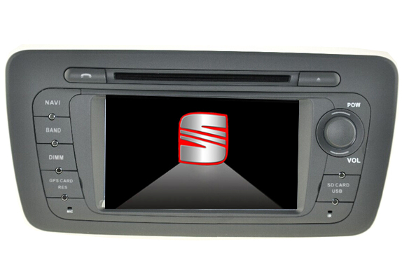 Autoradio AGW92 GPS WIFI DVD CD Bluetooth USB SD pour SEAT Ibiza (Android 8.1 processeur 2GHZ)