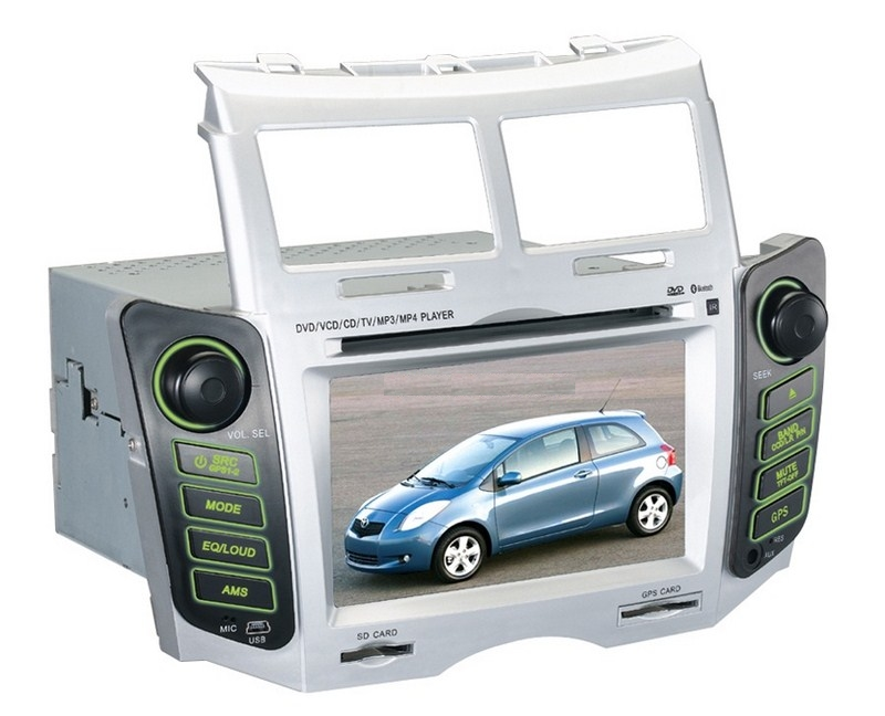 Autoradio AGW92 GPS WIFI DVD CD Bluetooth USB SD pour TOYOTA Yaris (processeur 2GHZ)