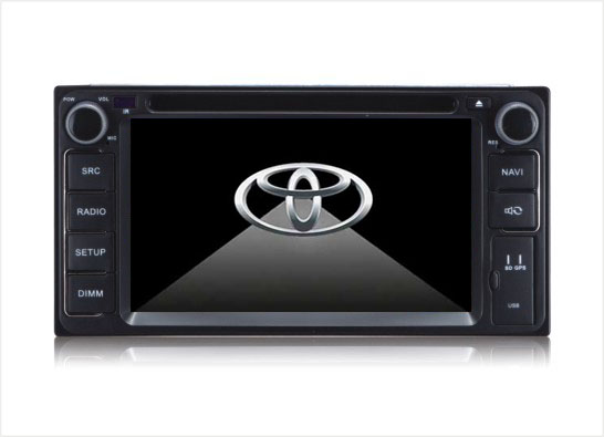 Station Multimédia Mobile Autoradio HD GPS DIVX IPOD DVD MP3 USB RDS 3G Bluetooth PIP disque dur 2 Go avec CAN BUS pour Toyota Rav 4 Camry Corolla Land Cruiser Hilux & Avensis