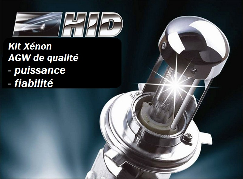 Kits Xénon taille Slim (Mince) H1 - H7