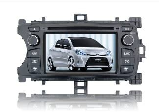 Autoradio AGW92 GPS DVD CD Bluetooth USB SD pour TOYOTA Yaris (processeur 1GHZ)